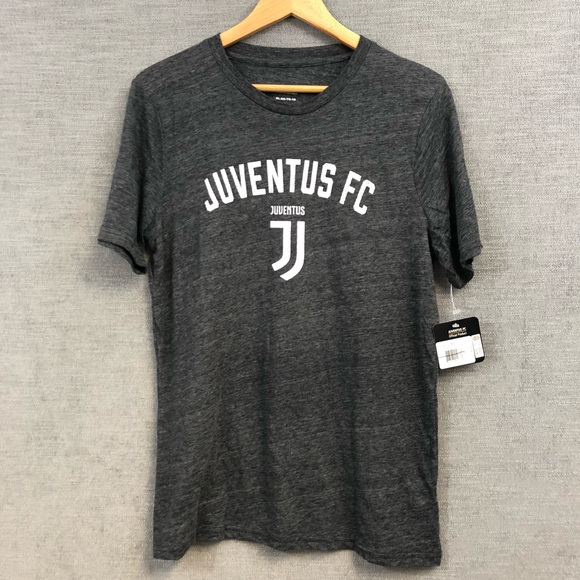 sports shoes b5677 74acd JUVENTUS FC tee shirt youth XLarge gray NWT